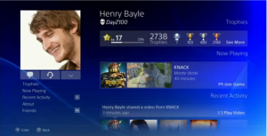 It's like Facebook... but Playstationy